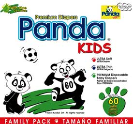 Diapers Panda-Kids Premium Disposable baby Diapers
