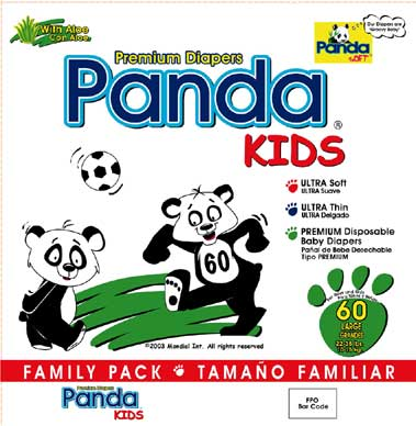 Diapers Premium Disposable baby Diapers by Panda-Kids